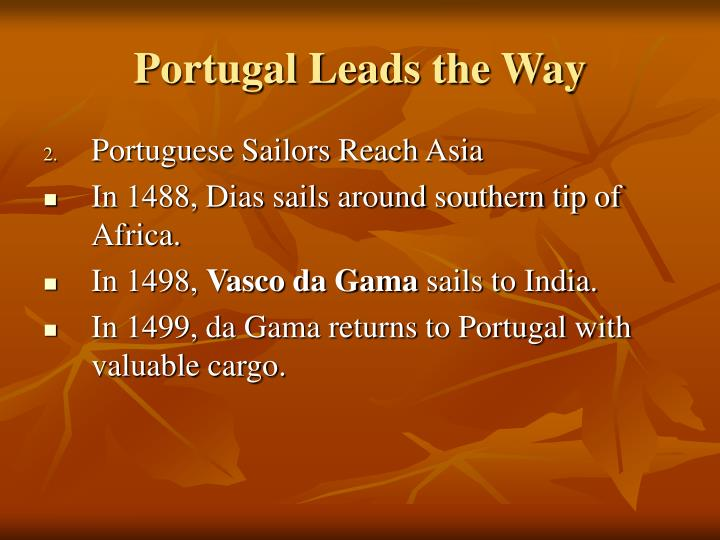 Portugal Leads the Way