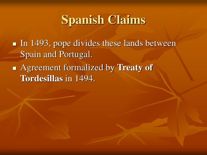 Spanish Claims
