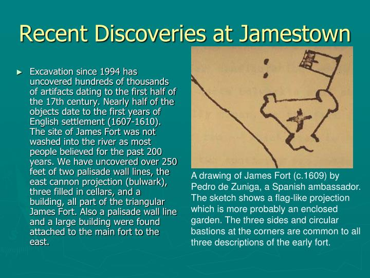 Recent Discoveries at Jamestown