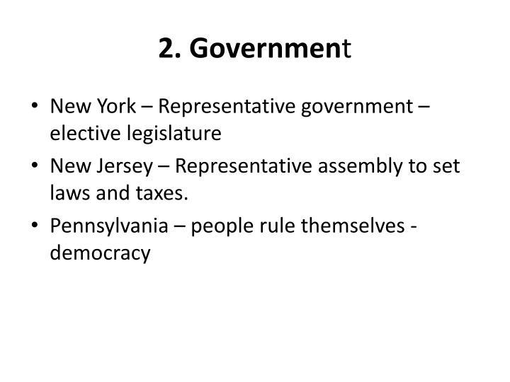 2. Governmen