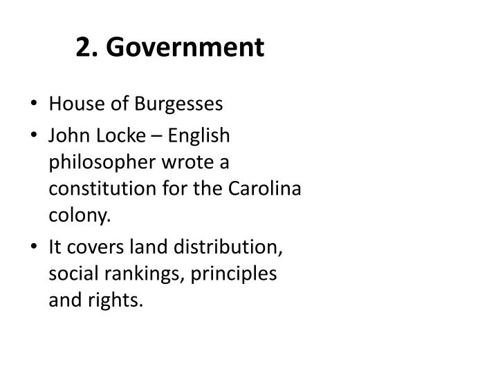 2. Government