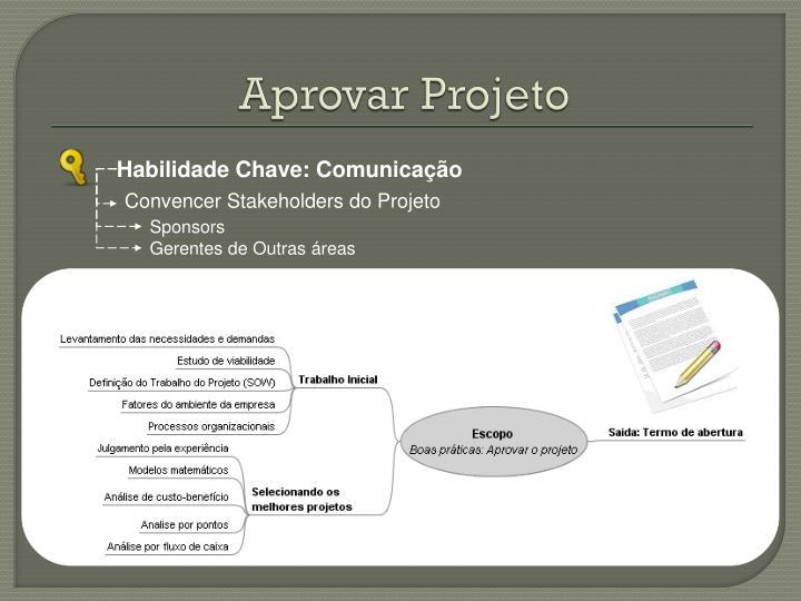 Aprovar Projeto