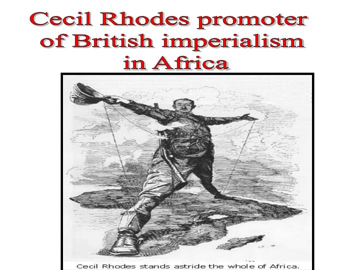 Cecil Rhodes promoter