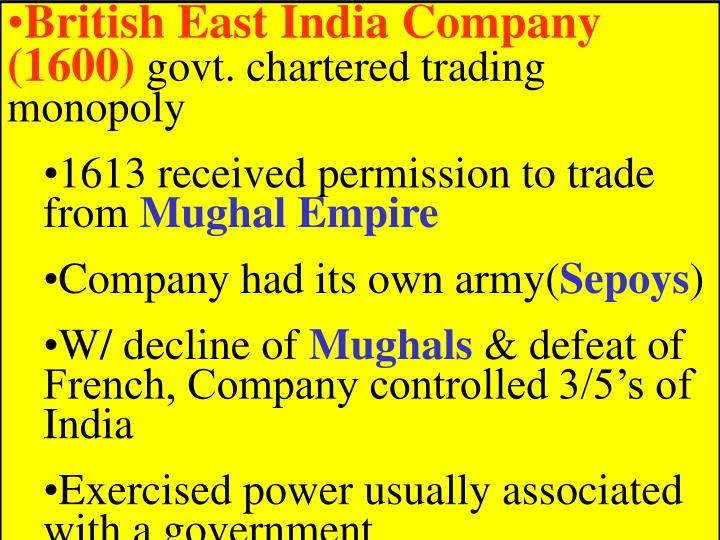 British East India Company (1600)