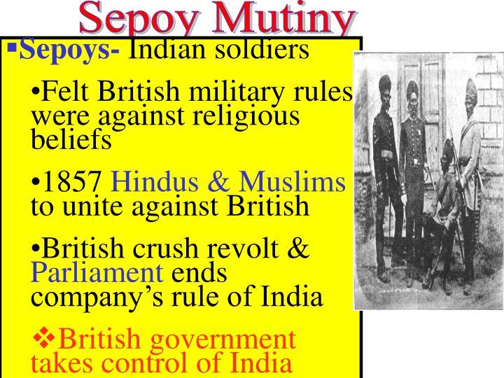 Sepoy Mutiny