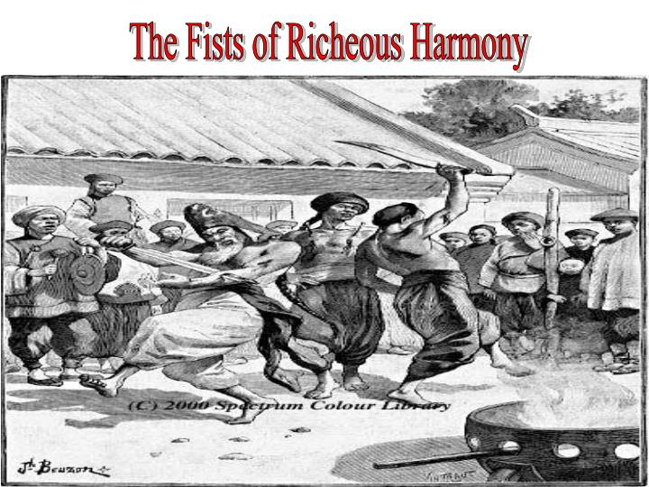 The Fists of Richeous Harmony