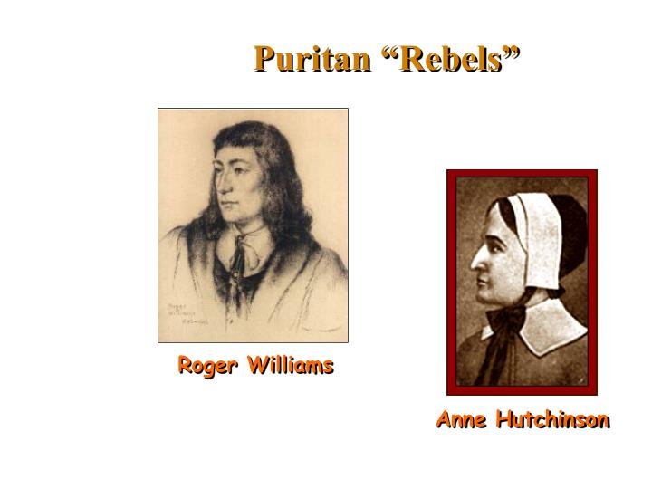 "Puritan ""Rebels"""