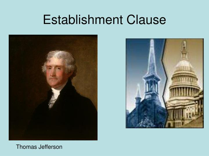 Establishment Clause