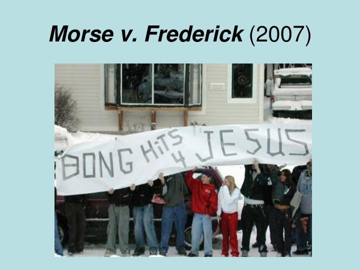 Morse v. Frederick