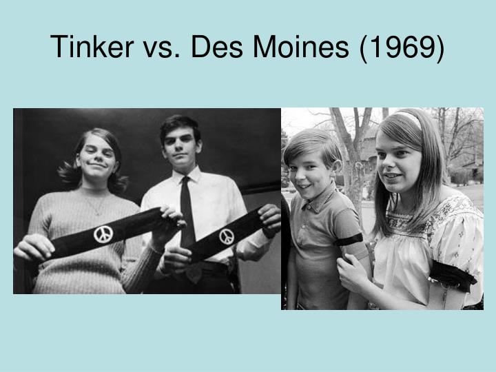 Tinker vs. Des Moines (1969)