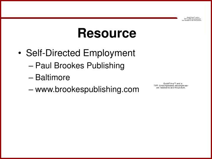 Resource
