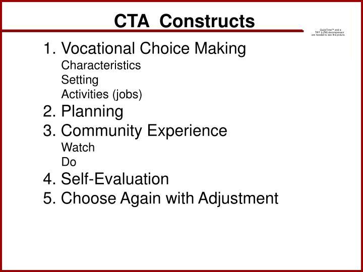 CTA  Constructs