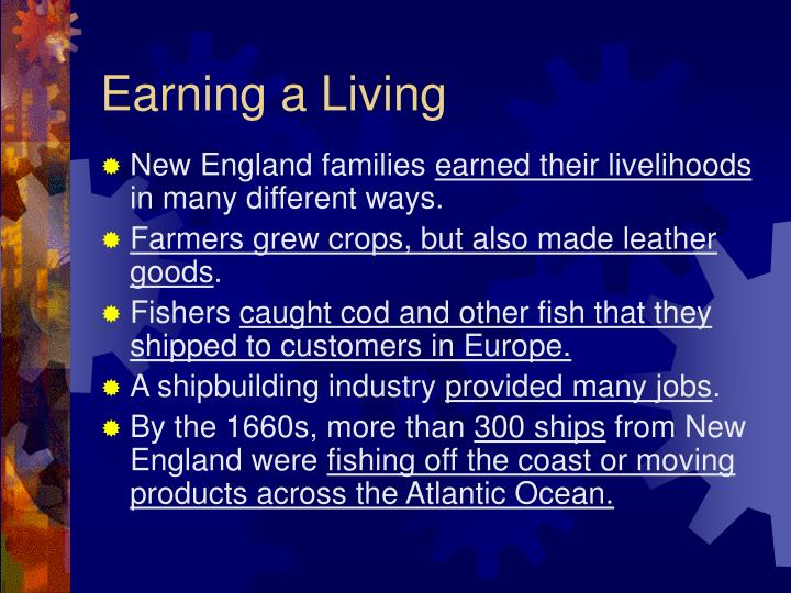 Earning a Living