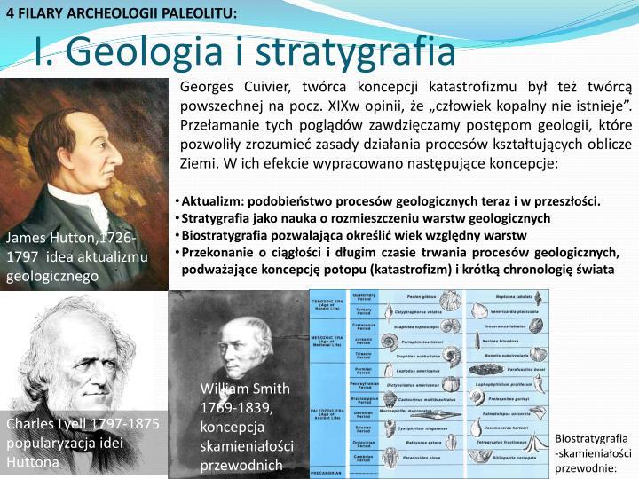 4 FILARY ARCHEOLOGII PALEOLITU: