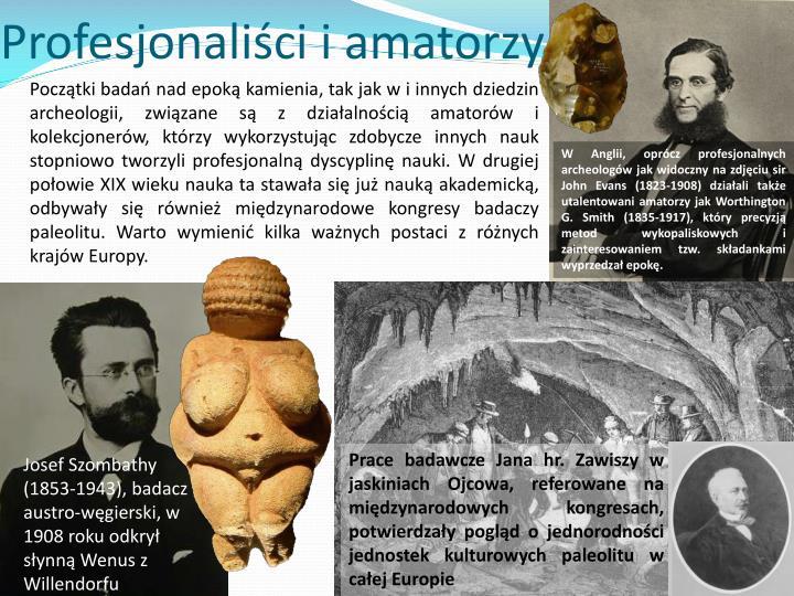 Profesjonaliści i amatorzy