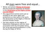 all men were free and equal