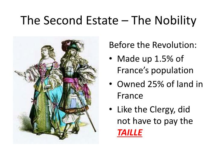 The Second Estate – The Nobility