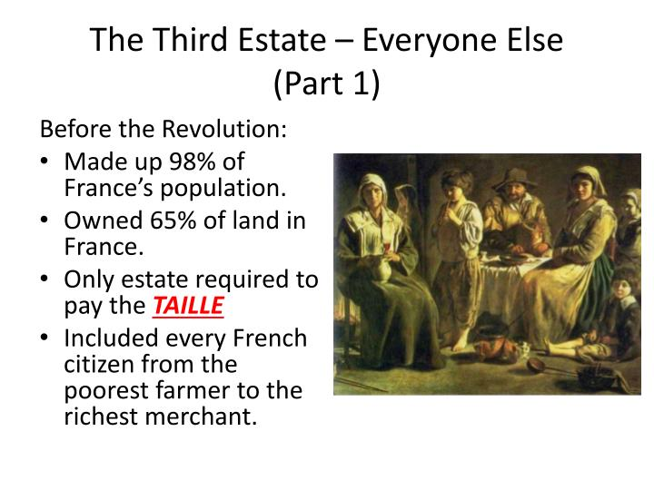 The Third Estate – Everyone Else