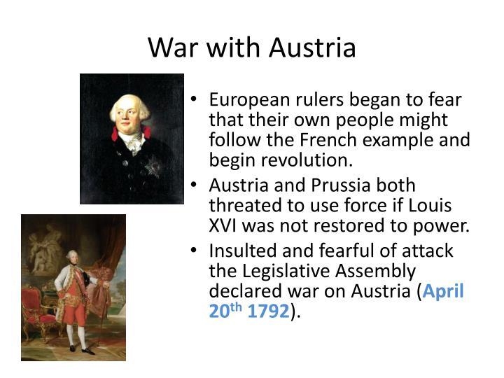 War with Austria