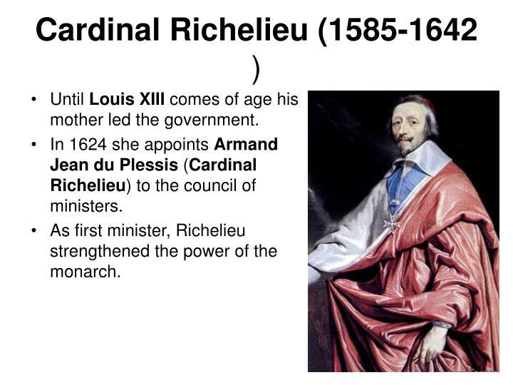 Cardinal Richelieu (1585-1642