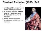 cardinal richelieu 1585 1642