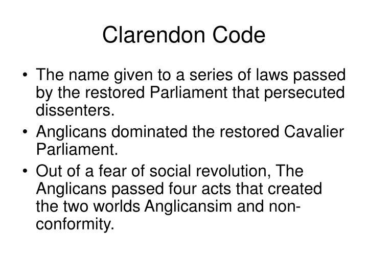 Clarendon Code