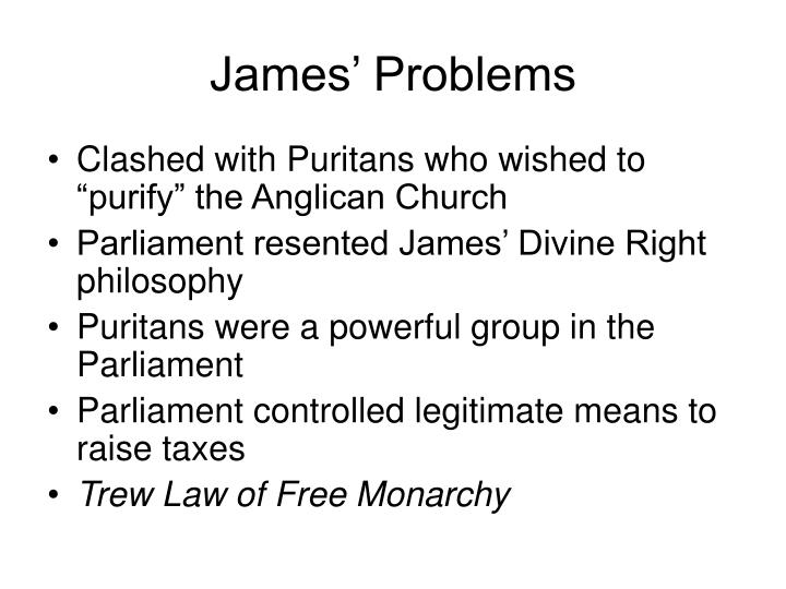 James' Problems