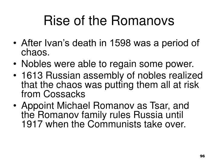 Rise of the Romanovs