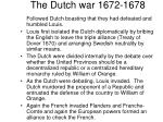 the dutch war 1672 1678