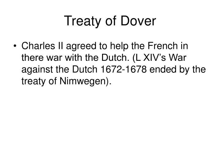Treaty of Dover