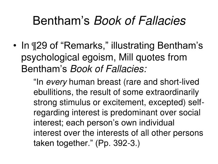 Bentham's