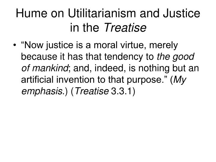 Hume on Utilitarianism and Justice in the