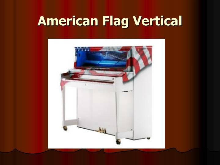 American Flag Vertical