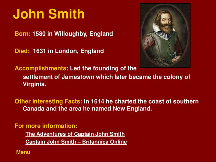 conclusions on william bradford and john smith And they both had different purposes john smith's writings were different than william bradford's john smith had a different purpose and his writings were intended for a different audience john smith's purpose was to bring people to the new world he wrote a pamphlet to the people in england and .