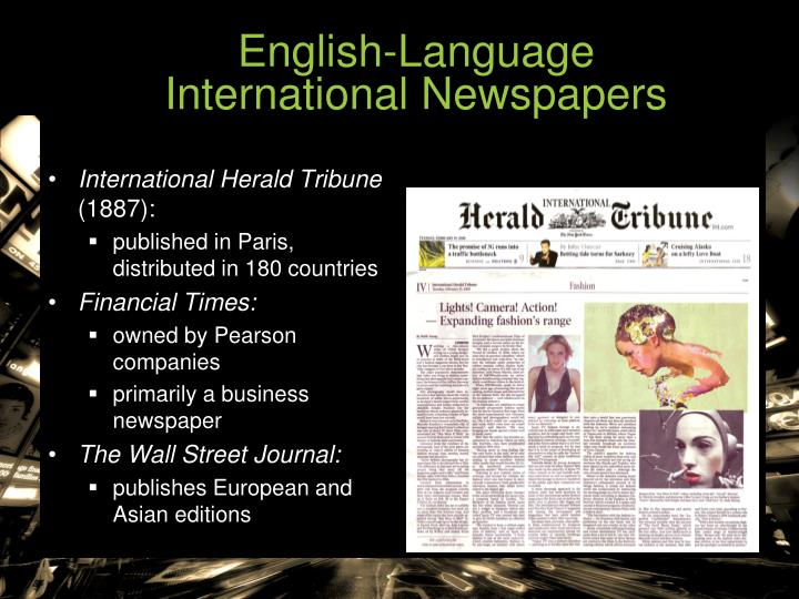 English-Language                       International Newspapers