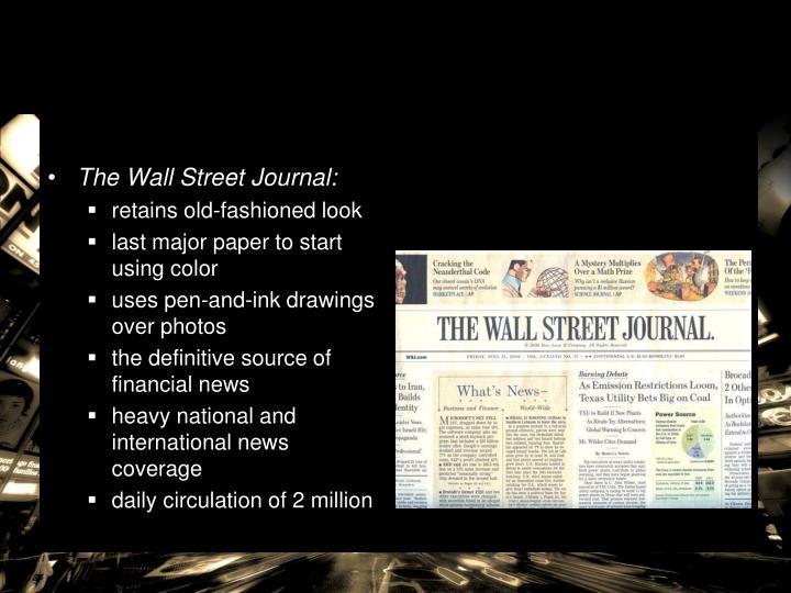 The Wall Street Journal: