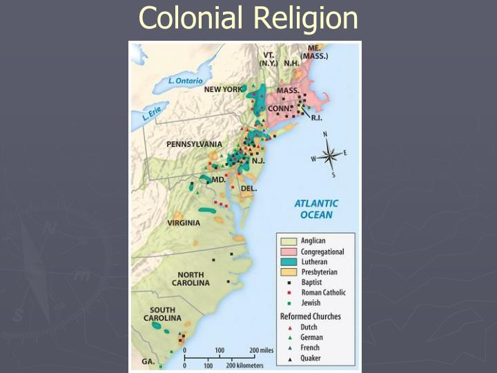 Colonial Religion