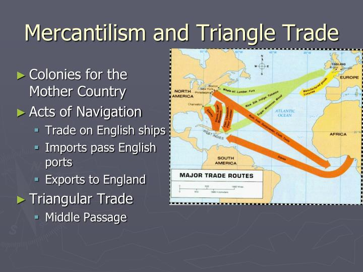 Mercantilism and Triangle Trade