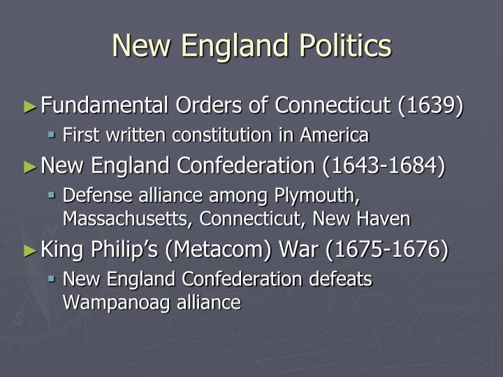New England Politics