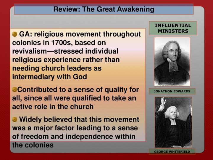 Review: The Great Awakening