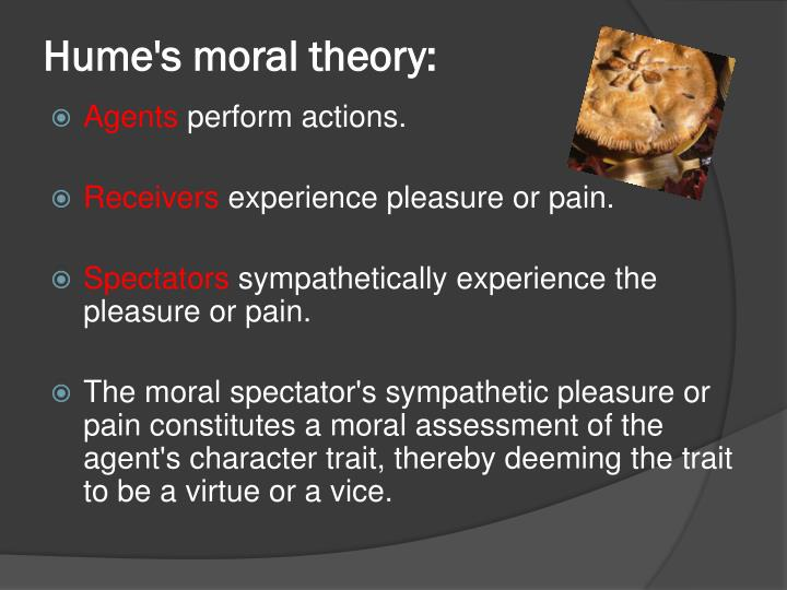 Hume's moral theory: