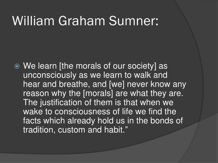 William Graham Sumner: