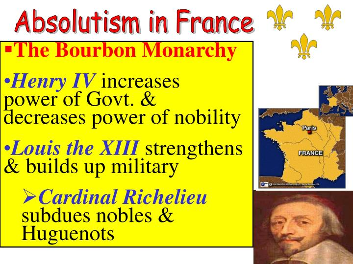 Absolutism in France