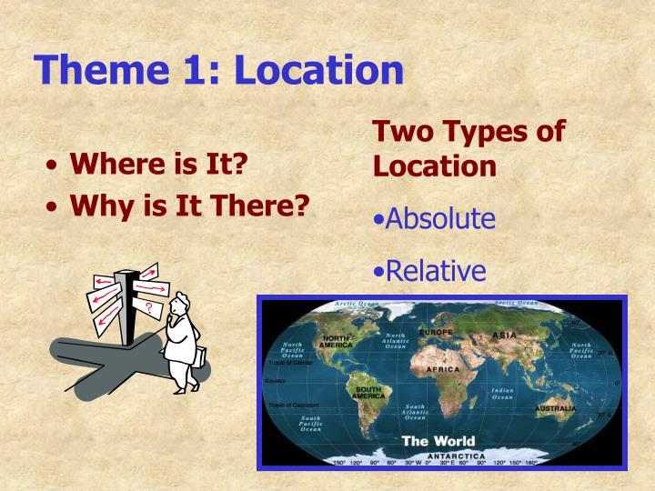 Theme 1: Location