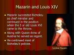 mazarin and louis xiv