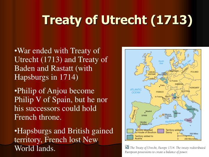 Treaty of Utrecht (1713)