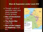 wars expansion under louis xiv