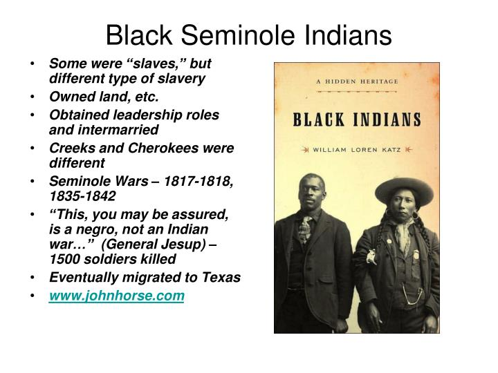 Black Seminole Indians
