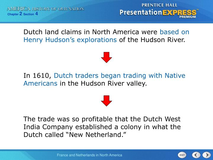 Dutch land claims in North America were