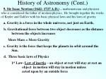 history of astronomy cont6
